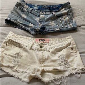 2 sets of short shorts (Pink) special edition